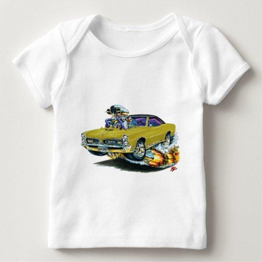 1966-67 GTO Gold Car Baby T-Shirt