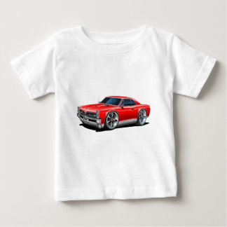 1966/67 GTO Red Car Baby T-Shirt
