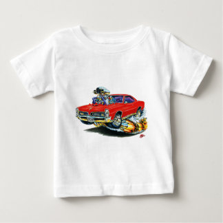 1966-67 GTO Red Car Baby T-Shirt