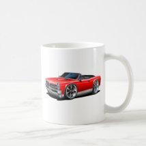 1966/67 GTO Red Car Coffee Mug