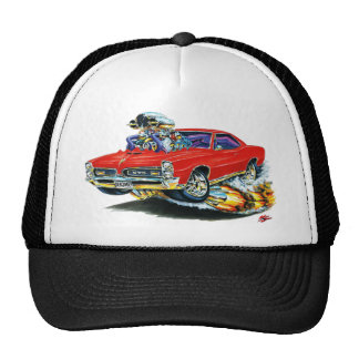 1966-67 GTO Red Car Mesh Hat