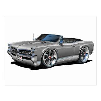 1966/67 GTO Silver Car Postcard