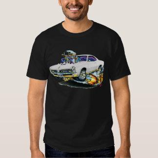 1966-67 GTO White Car T-Shirt