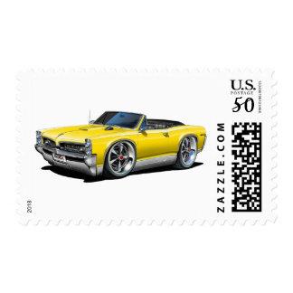 1966/67 GTO Yellow Convertible Postage