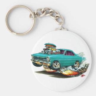 1966-67 Nova Aqua Car Keychain