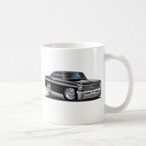 1966-67 Nova Black Car Coffee Mug