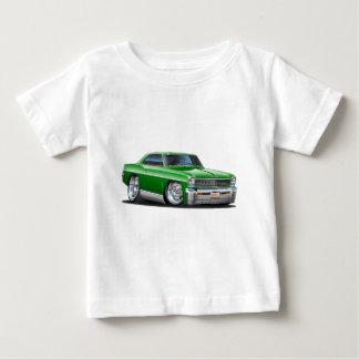 1966-67 Nova Green Car Baby T-Shirt