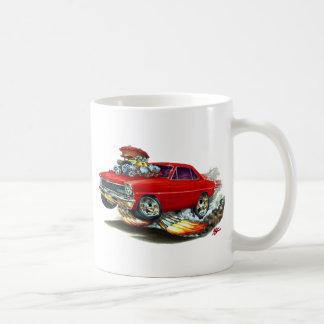 1966-67 Nova Red Car Coffee Mug