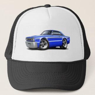1966 Belvedere Blue Car Trucker Hat