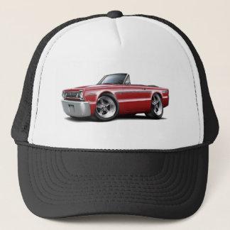 1966 Belvedere Maroon Convertible Trucker Hat