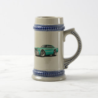 1966 Belvedere Turquoise Car Beer Stein