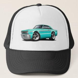 1966 Belvedere Turquoise Car Trucker Hat