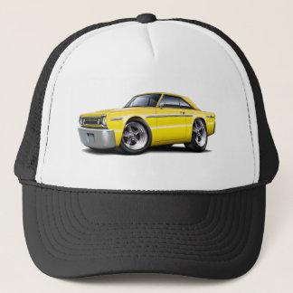 1966 Belvedere Yellow Car Trucker Hat