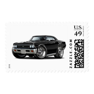 1966 Chevelle Black Car Stamps