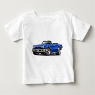 1966 Chevelle Blue Convertible Baby T-Shirt