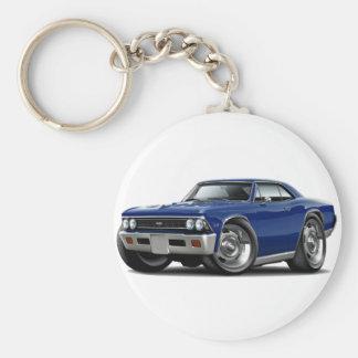 1966 Chevelle Dark Blue Car Key Chains