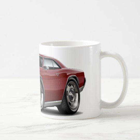 1966 Chevelle Maroon Car Coffee Mug