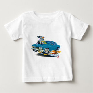 1966 Chevelle Teal Car Baby T-Shirt