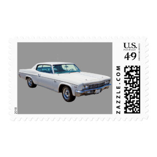 1966 Chevrolet Caprice 427 Muscle Car Postage