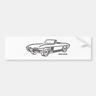 1966 Chevrolet Corvette Bumper Sticker