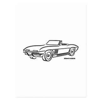 1966 Chevrolet Corvette Postcard
