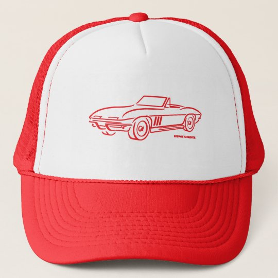 1966 Chevrolet Corvette Trucker Hat