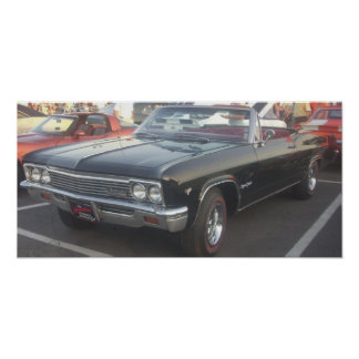 1966 Chevrolet Impala Super Sport Convertible Poster