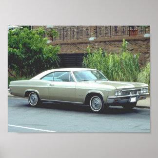1966 Chevrolet Impala Super Sport Poster