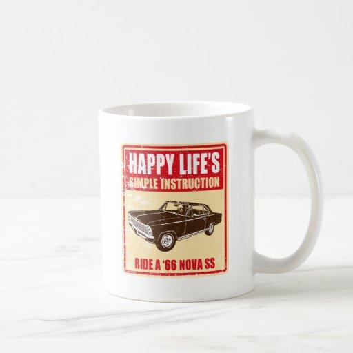 1966 Chevrolet Nova SS Coffee Mugs