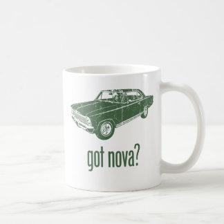 1966 Chevrolet Nova SS Classic White Coffee Mug