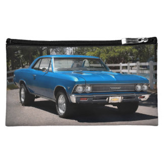 1966 Chevy Chevelle Big Block Muscle Car Cosmetic Bag