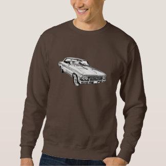 1966 Chevy Chevelle SS 396 Illustration Sweatshirt