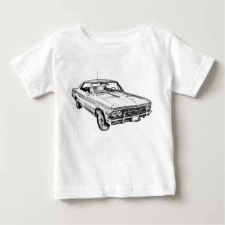 1966 Chevy Chevelle SS 396 Illustration Shirts