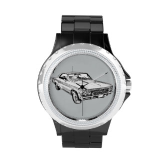 1966 Chevy Chevelle SS 396 Illustration Watch