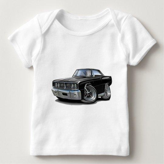1966 Coronet Black Car Baby T-Shirt