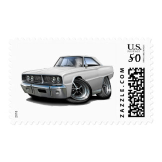 1966 Coronet White Car Postage