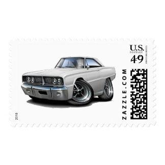 1966 Coronet White Car Postage