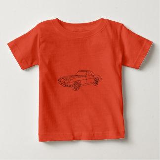 1966 Corvette Roadster - Lt Fabric Infant T-shirt
