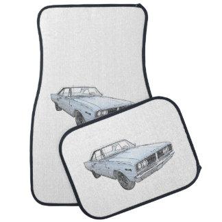 1966 Dodge Coronet Car Floor Mat