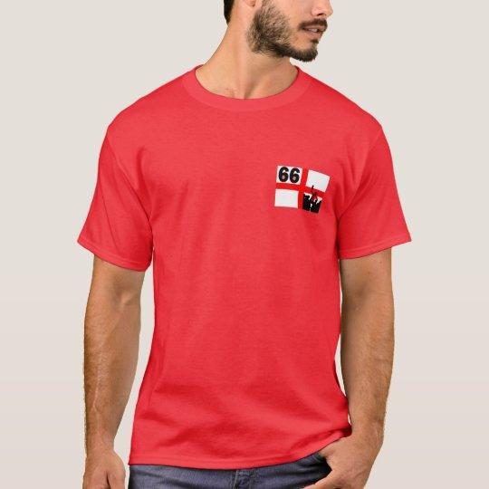 1966 England flag football T-Shirt
