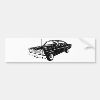 1966 Ford Fairlane GT 427 Bumper Stickers