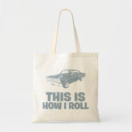 1966 Ford Fairlane GT 427 Tote Bags