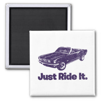 1966 Ford Mustang Convertible Magnet