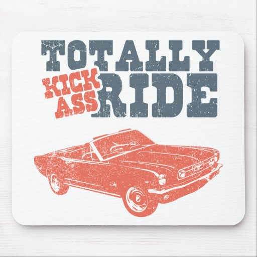 1966 Ford Mustang Convertible Mouse Pad