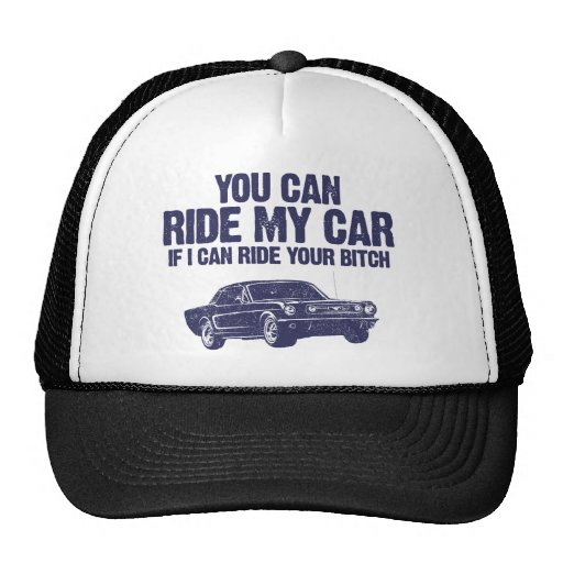 1966 Ford Mustang Coupe Hats