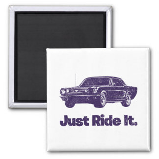 1966 Ford Mustang Coupe Fridge Magnets