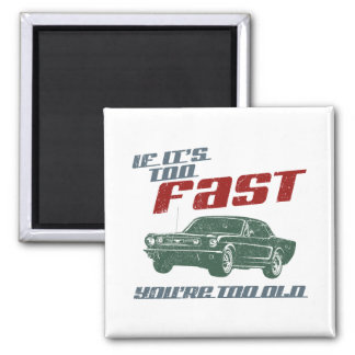 1966 Ford Mustang Coupe Magnets