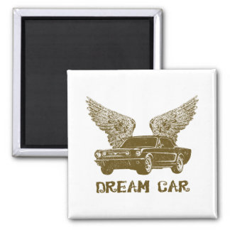 1966 Ford Mustang Coupe Magnet