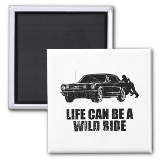 1966 Ford Mustang Coupe Refrigerator Magnets