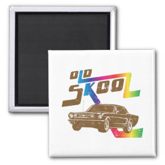 1966 Ford Mustang Coupe Fridge Magnet